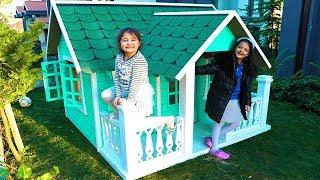 Masal and Öykü New Playhouse for Children Fun Kids Video