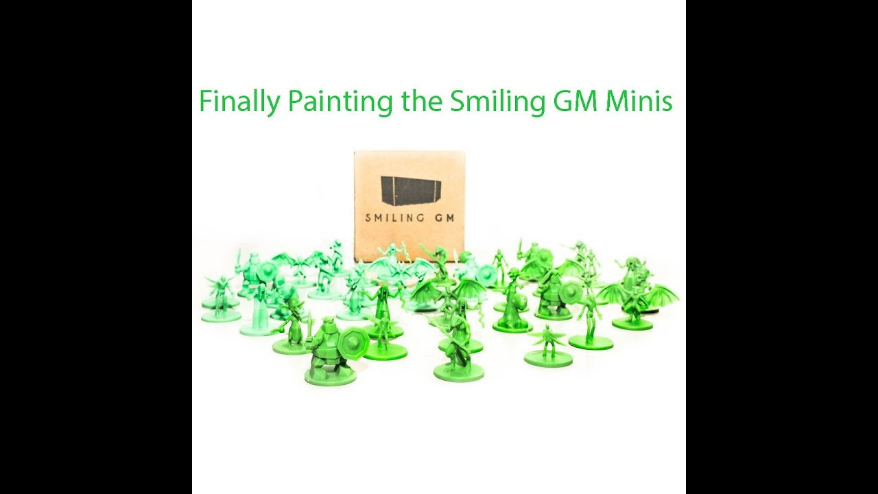 Painting The Smiling GM Minis