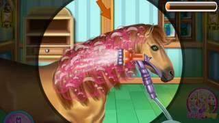 Мультик Парикмахерская для лошадей (Horse Hair Salon)