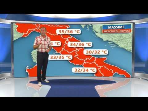Italia bollente, al Sud punte di 40 gradi, nel weekend si respira