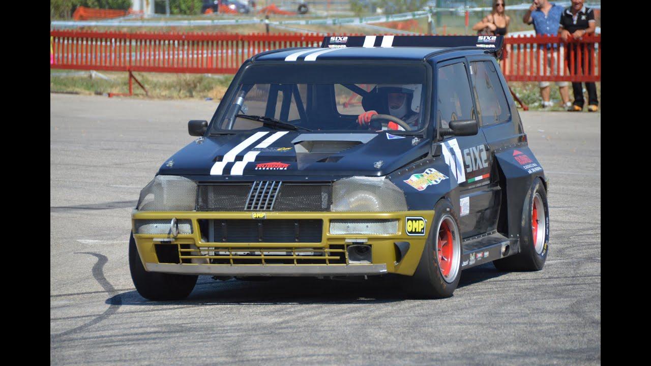 160 HP Fiat Panda 1.1 TURBO racing - YouTube