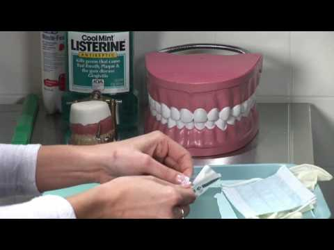 Dental Health : How to Set Up a Dental Tray