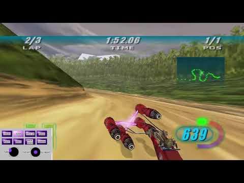 Baroo Coast (PB)- 3:50.422 || Star Wars Episode 1: Racer |