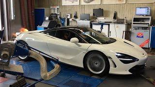 Novitec McLaren 720S Dyno Test