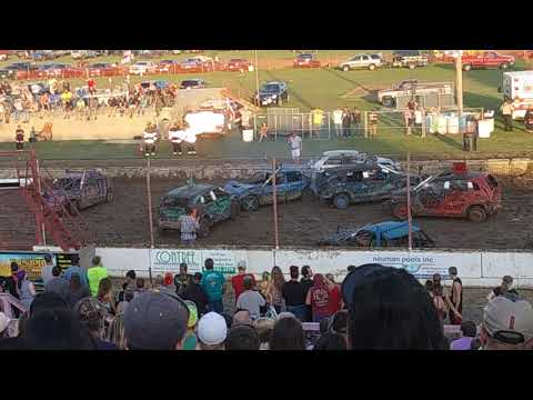 Dodge County Fair Demo Derby #4
