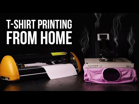 How To Start A T Shirt Printing Business Using A Heat Press