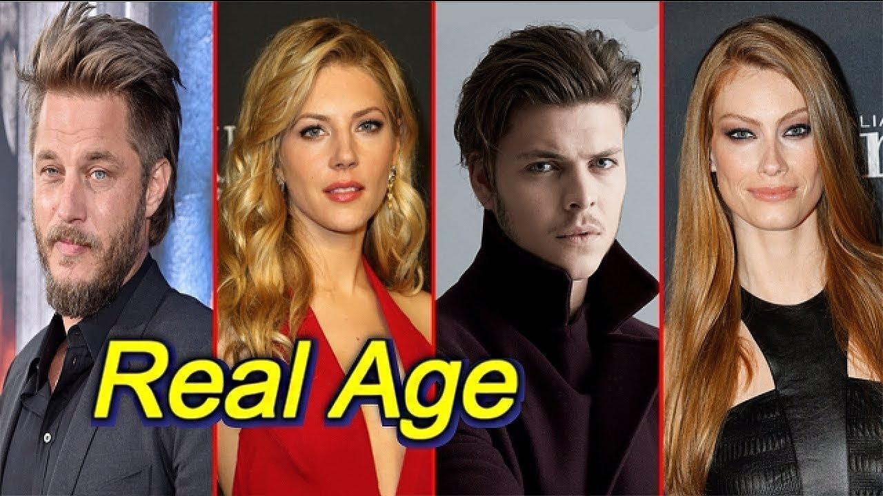 Real Age Of Vikings Actors الأعمار الحقيقية لأبطال مسلسل الفايكنج Youtube