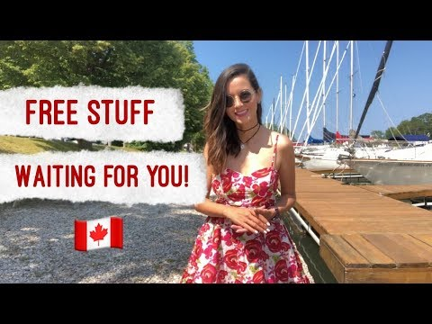FREE Stuff You Can Get in Canada!