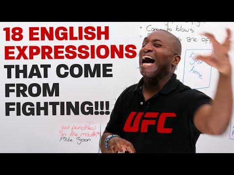 Learn English the MMA way!