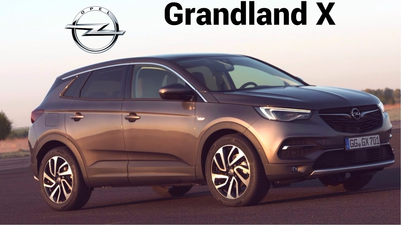 2018 opel grandland x how elegant suv can look youtube. Black Bedroom Furniture Sets. Home Design Ideas