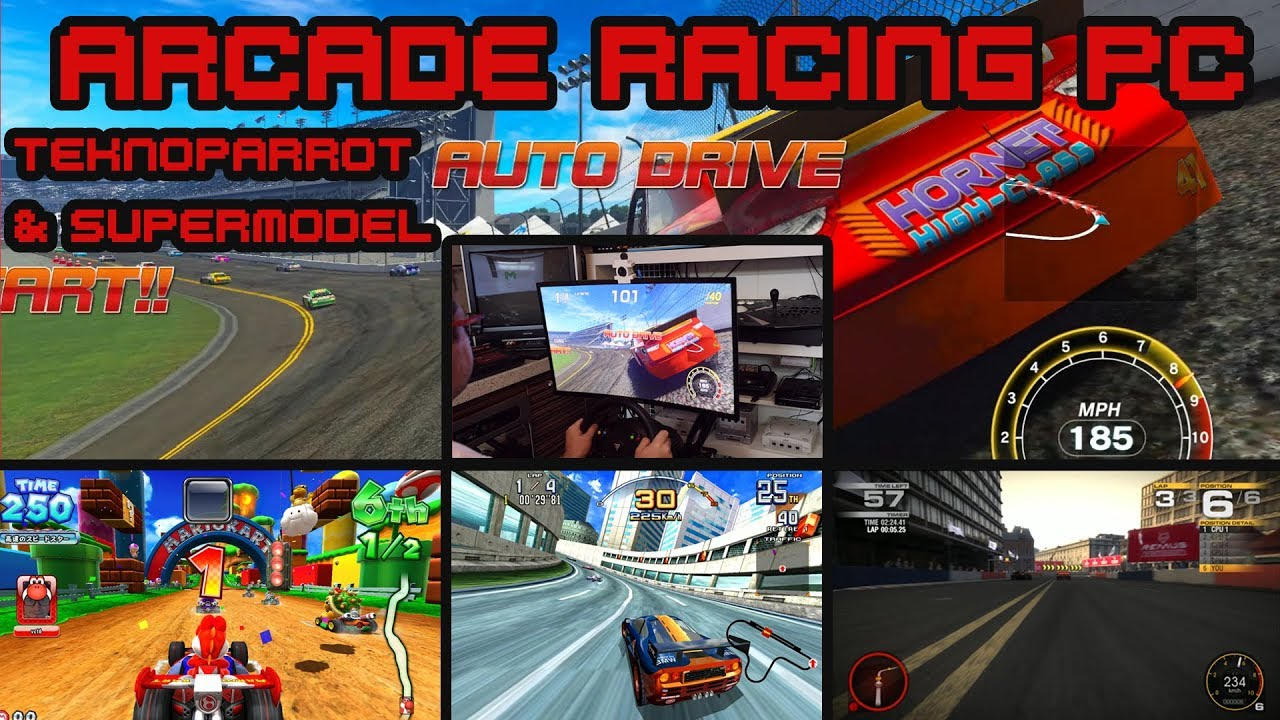 Arcade Racing PC - Teknoparrot 1 86 & Supermodel SVN 761