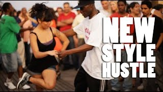 Jeff Selby & Nicole NEW STYLE HUSTLE Coney Island NYC |