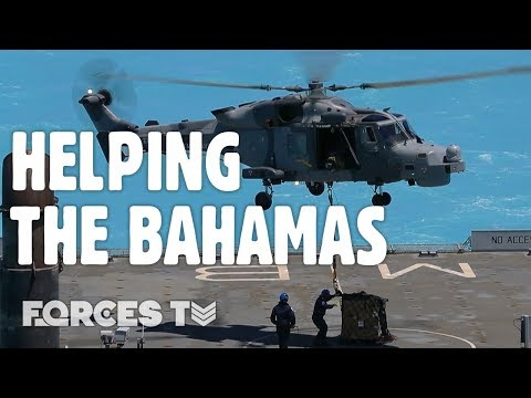 How The  Military Helped The Bahamas After Hurricane Dorian | Forces TV