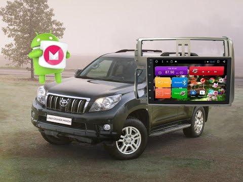 Магнитола на Toyota Land Cruiser Prado 150 (2009-2013) Android 6.0.1