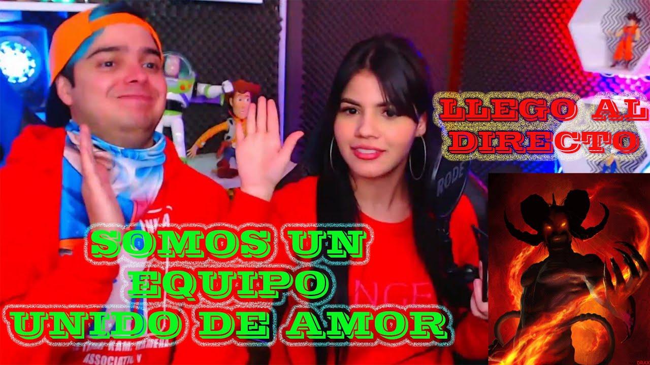 DIABLITO (DEMONIO)  LLEGO AL DIRECTO / MARIANA SE PINTARA EL CABELLO DE AZUL???  / YOLO AVENTURAS