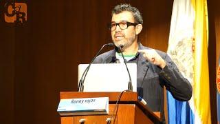 Ronny Rojas en Conferencia: Rastreando y analizando datos