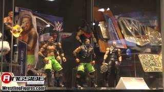 Mattel WWE Preview Night Display - SDCC 2014 NEW Mattel WWE Wrestling Figures San Diego Comic Con