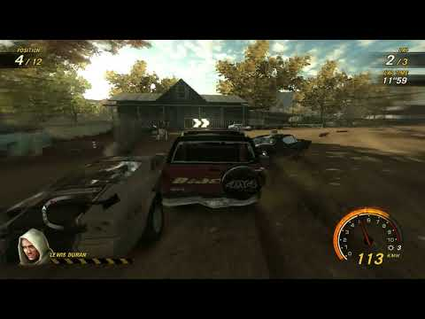 flatout 3 : race 7 with my car of blaster