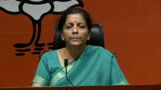 Smt. Nirmala Sitharaman on Supreme Court's decision to admit the review petition on Rafale deal.