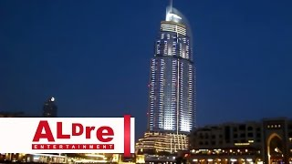 Dubai Downtown & Burj Khalifa and Dubai Fountain [HD]