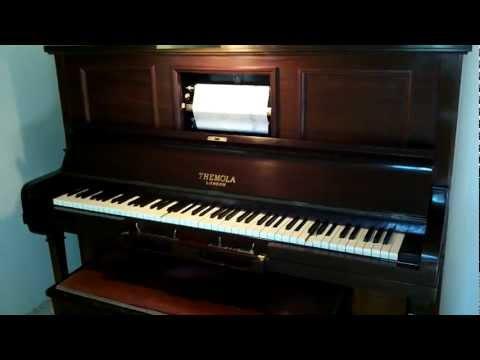 1928 Themola London Pianola - Cowboy Saloon Roll