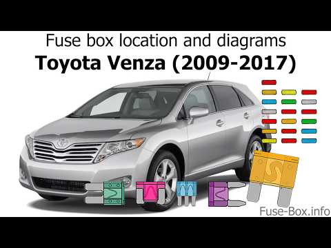 toyota venza fuse box wiring diagram sys Mustang Fuse Box