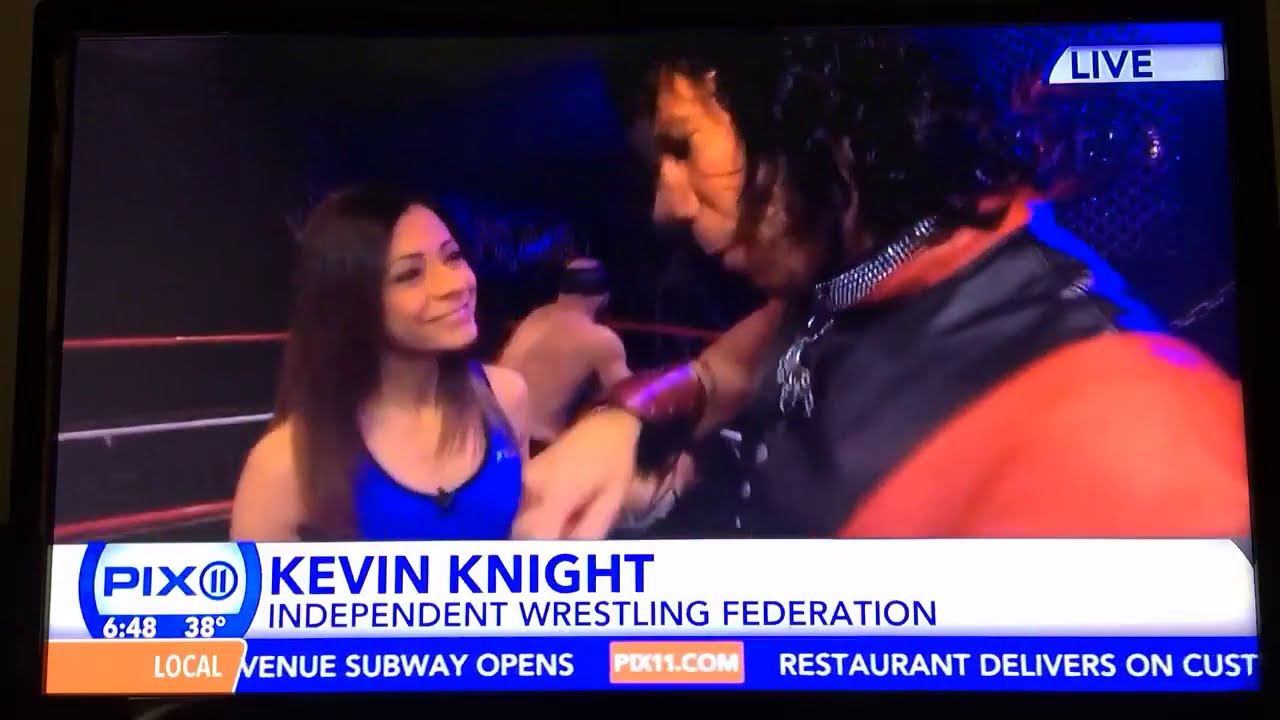 IWF Wrestling School LIVE on New York's PIX11 Morning News January 2, 2017