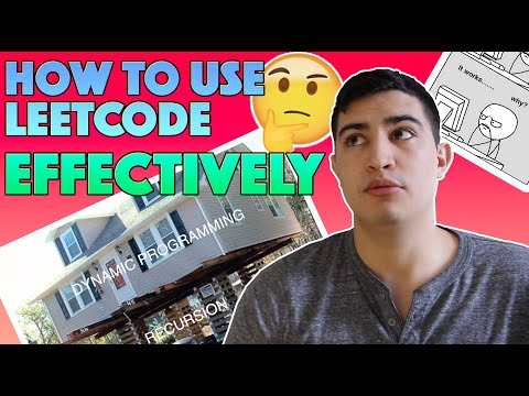 HOW TO USE LEETCODE EFFECTIVELY...