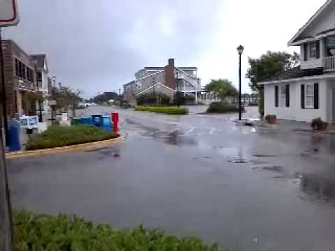 Front Street downtown Beaufort NC before Irene - YouTube