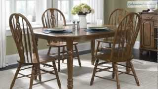 Old World Oval Leg Dining Room Collection From Liberty Furniture