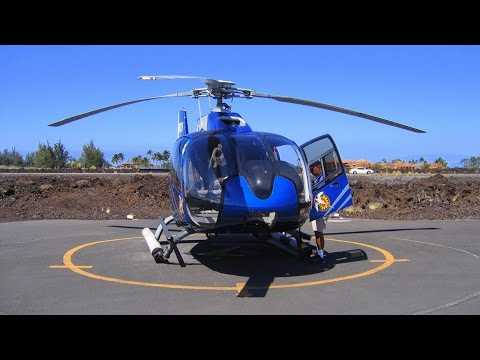 Hawaii helicopter tour | Big Island | Helicopter Eurocopter EC130