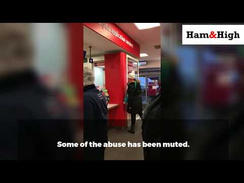 Woman's racist attack in Camden Post Office