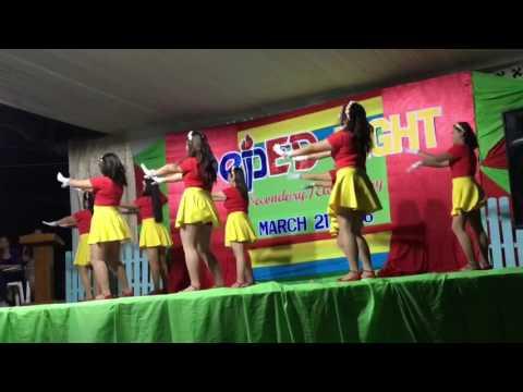 Teachers' Presentation during DepEd Night 2016 (90's hits) at Tukuran, Zamboanga del Sur