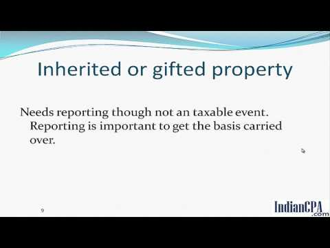 Indian CPA | Reporting Indian Property on US Tax Return