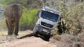 The Globetrotter Vehicle Atacama 6300 is put to a test
