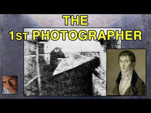 The 1st Photographer - Joseph Nicéphore Niépce