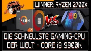 i9 9900K - DIE SCHNELLSTE GAMING-CPU DER WELT verliert gegen AMD Ryzen 7 2700X | DasMonty - Deutsch