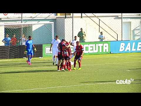 El Ceuta salva un punto sobre la bocina ante el Puente Genil (2-2)