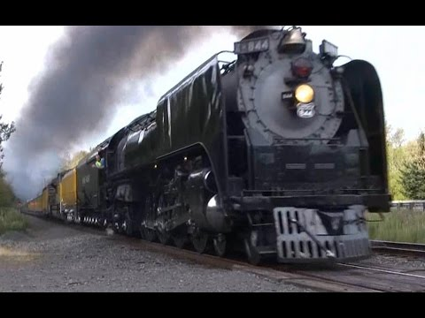 HD Best of Steam Engines in the Columbia River Gorge