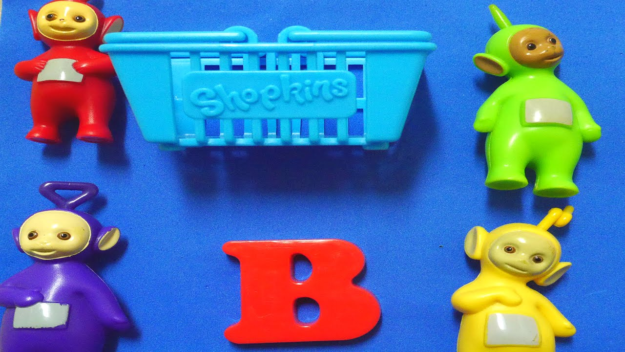Learn English With Surprise Toys Letter B