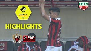 OGC Nice - EA Guingamp ( 3-0 ) - Highlights - (OGCN - EAG) / 2018-19