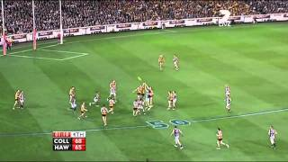 The final moments Collingwood vs Hawthorn (1st Preliminary Final 2011)