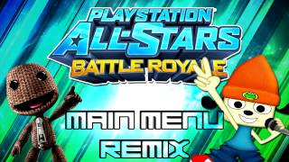 PlayStation All-Stars: Battle Royale - Main Menu Theme - Remix