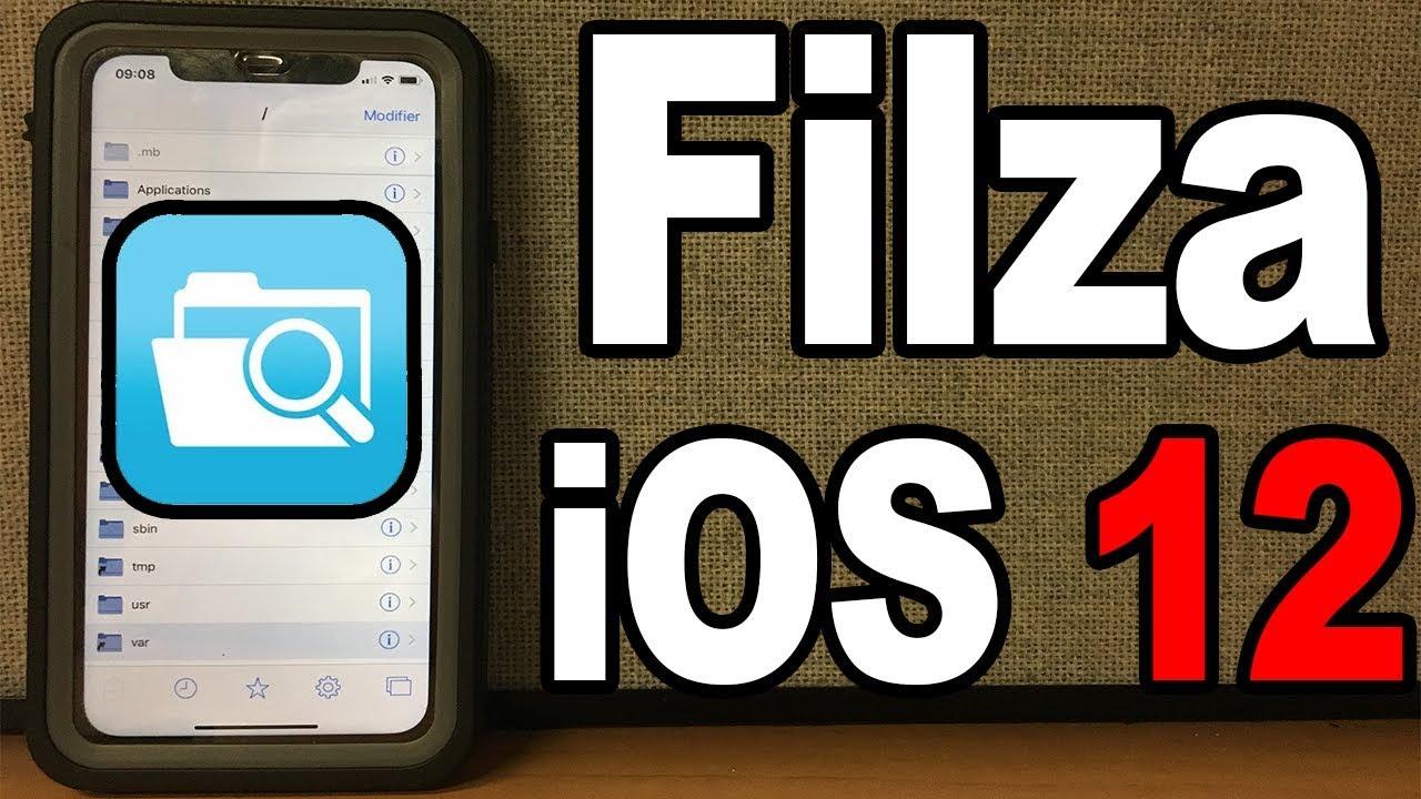 Comment avoir Filza (iFile) sur iOS 12 SANS JAILBREAK