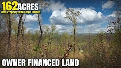 Owner Financed 162 Acres Missouri! The Drive to the 162 Acres - ID#DC