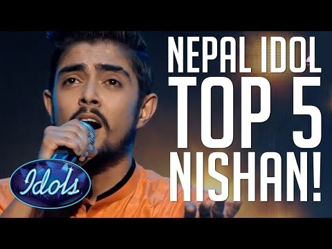 TOP Nishan Bhattarai BEST PERFORMANCES Nepal Idol 2017 | Ido