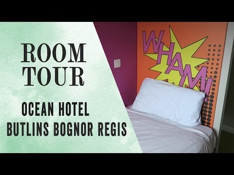 BUTLINS  BOGNOR REGIS OCEAN HOTEL ROOM TOUR | 2017