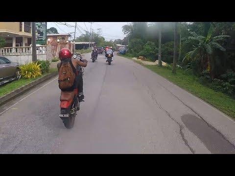 Trinidad and Tobago around the country Motobike ride 26/12/17