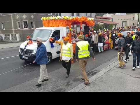 Nagar Kirtan in Linz 2017  (Austria) 17.04.2017 Nagarkirtan Gurdwara Sahib Linz
