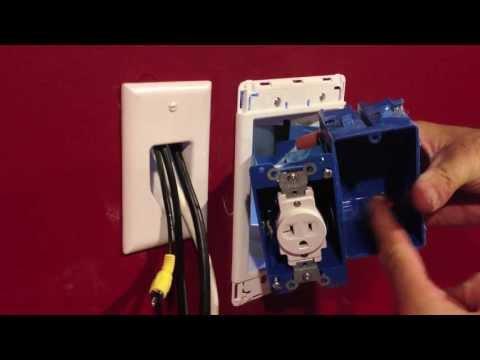 hook up 120v outlet